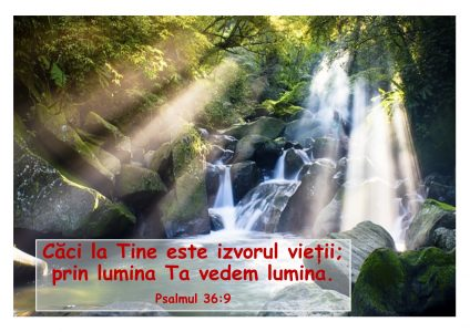 Psalmul 36-9 - imagine